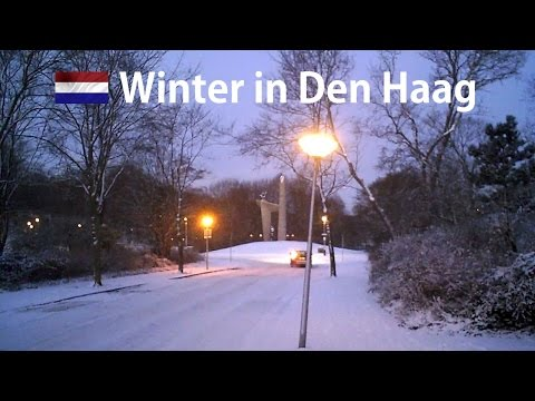 Winter in The Hague 2009