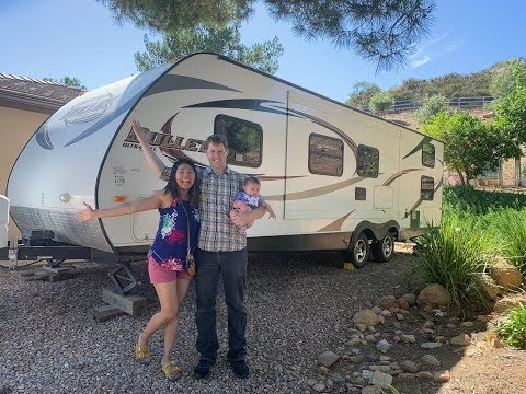 RV Newbies Getting & Pulling Our First Travel Trailer - Pulled By Nissan Armada