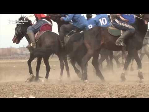 Horsemen Fight For Dead Goat in Kyrgyz Sport Of Kok-Boru