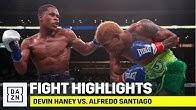 HIGHLIGHTS | Devin Haney vs. Alfredo Santiago