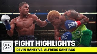 HIGHLIGHTS | Devin Haney vs. Alfredo Santiago