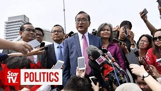 Full press conference: We will find a way to return to Cambodia, says Sam Rainsy