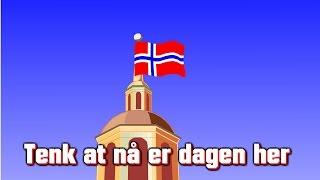 Barnesanger på norsk | 17. mai-sang | Tenk at nå er dagen her med mera thumbnail
