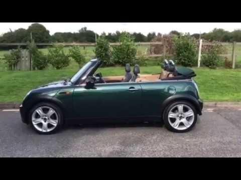 Mrsmini Co Uk 2004 Mini Cooper Convertible In British Racing Green For