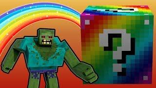 Minecraft Lucky Boss - Gökkuşağı Şans Blokları