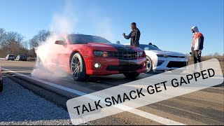 Cammed 5th Gen Owner Gaps Smack Talking 6th Gen Owner....Or Did He???