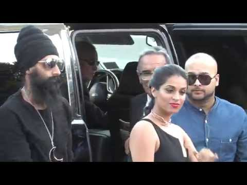 Lilly Singh attends the premiere of 'Bad Moms'