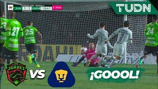 ¡Impresionante! Se empata el partido | FC Juárez 1 - 1 Pumas | Liga Mx - CL 2020 - J2 | TUDN