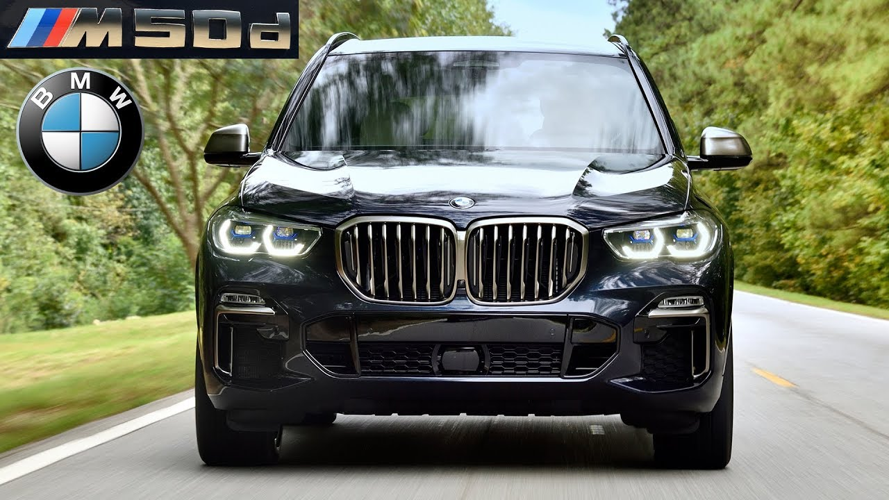 2019 Bmw X5 M50d Driving Interior Exterior Youtube