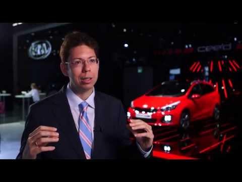 Frankfurt Motor Show 2015 - Interview with Pablo Martinez, Kia Motors Europe | AutoMotoTV