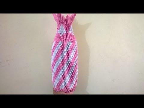 3d Origami Flower Vase Easy Step Video Download Mp4 3gp Flv Yiflix