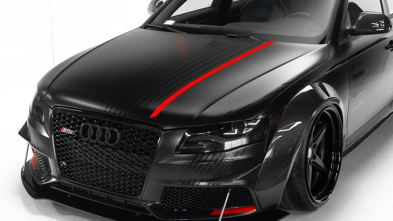 Audi A4 Dtm Best Performance Wring