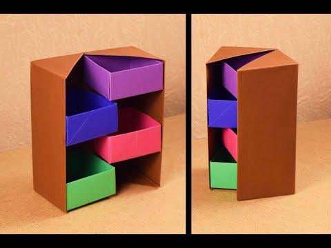 DIY Secret Stepper Box | Paper Craft | Secret Box