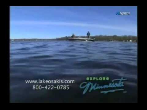 Lake osakis fishing featured on fishing the midwest with for Fishing the midwest