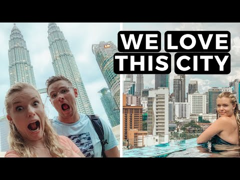 A DAY IN KUALA LUMPUR | This city is AMAZING! | VLOG #062