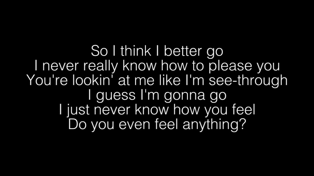 Billie Eilish 8 Lyrics Youtube
