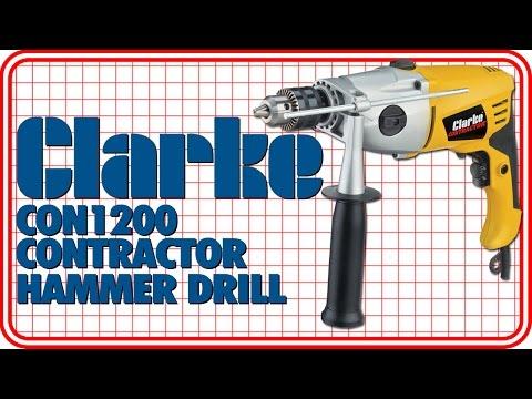 Clarke Contractor CON1200 Hammer Drill