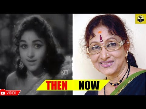 Bharathi Vishnuvardhan Shocking Photos - Then & Now   Actress Bharathi Rare & Unseen Photos