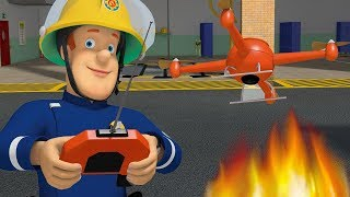 Fireman Sam New Episodes | Drone Saves - Air Rescues Marathon 🔥 Cartoons for Children