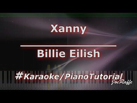 Billie Eilish - Xanny KaraokePianoTutorialInstrumental