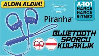 A101'De 39,95TL Spor Bluetooth Kulaklık-Piranha- /TanıtımSepeti 15 Ağustos Aktüel
