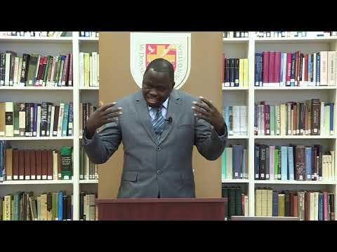 John Wamwara: Christianity and Human Rights in Africa Lecture Series Part 1