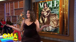 Vogue's Latest Issue Features Ashley Graham L Gma