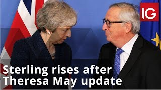 Sterling rises after Theresa May updates MPs | Brexit