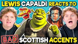Baixar Lewis Capaldi Reacts To BAD Scottish Accents In TV And Movies (Shrek, The Simpsons, Star Trek)