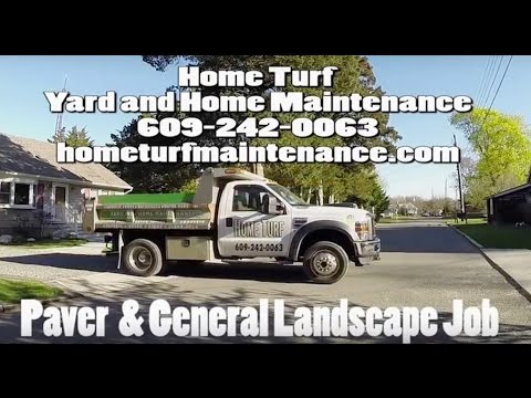 Home Turf Yard and Home Maintenance LLC Paver & General Landscape Job Paver Testimonial
