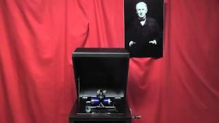 Edison blue amberol cylinder 3092 - Old Black Joe by Criterion Quartet