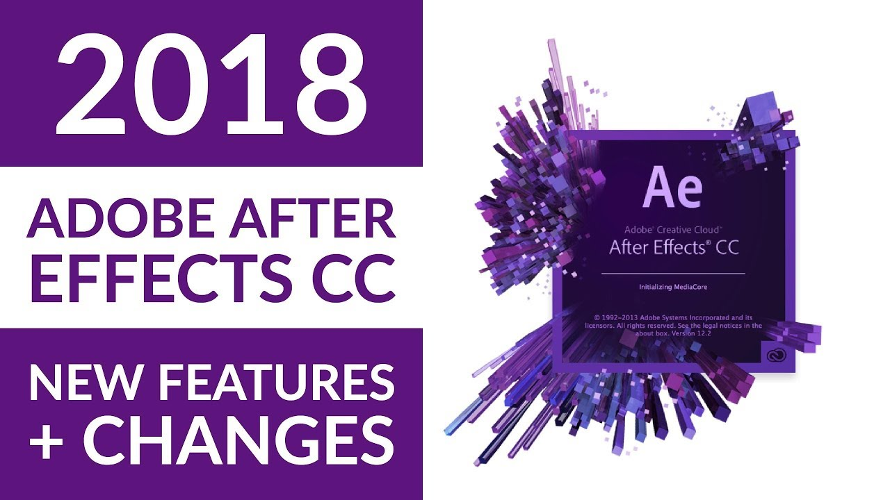 Adobe After Effect merupakan sebuah  software pengolah video yang sanggup sahabat Adobe After Effects CC 2018 Full Version