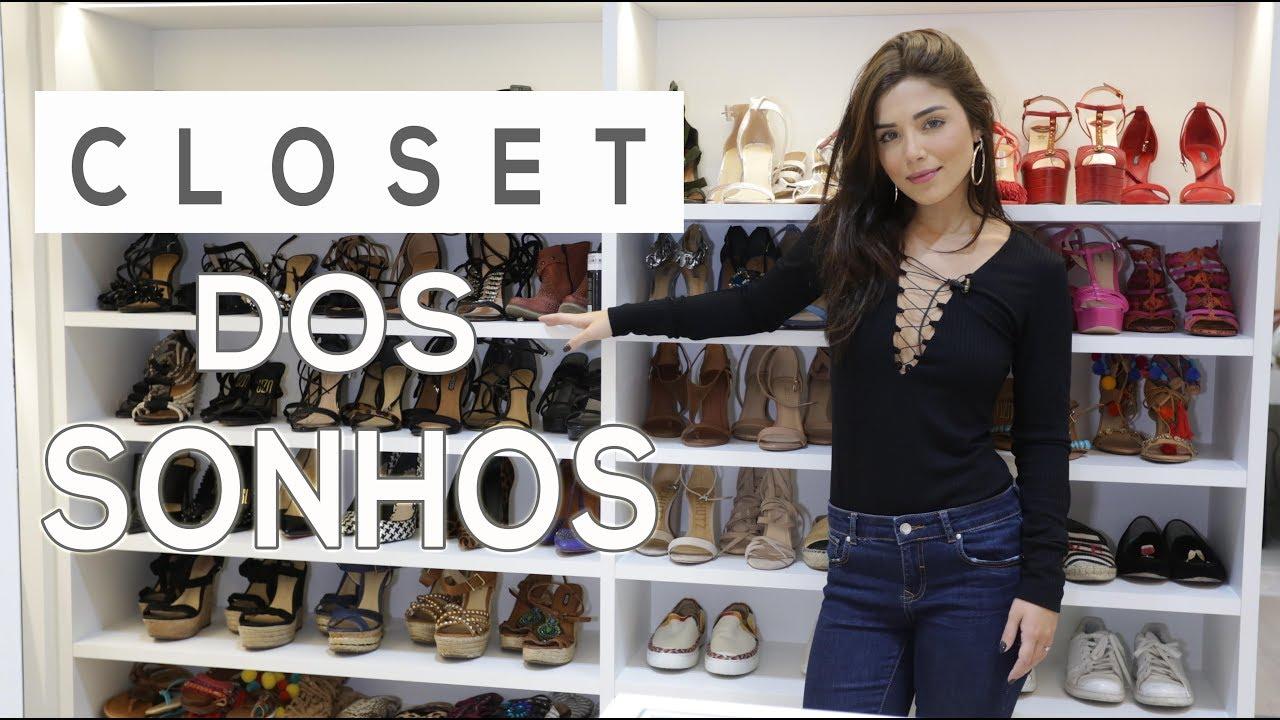 aa0ec79b085b3 Meu Closet na Casa Nova! Por Mari Sampaio - YouTube