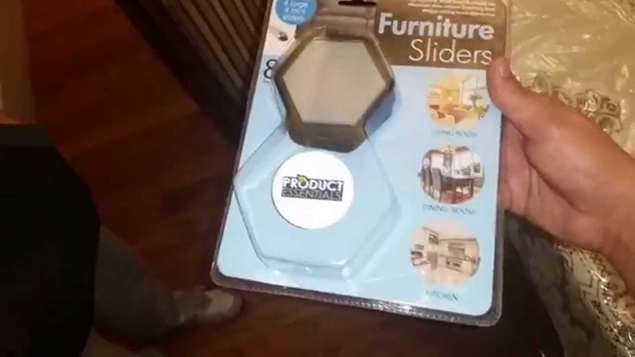 Best Furniture Sliders For Carpet   Product Essentials On Amazon   YouTube