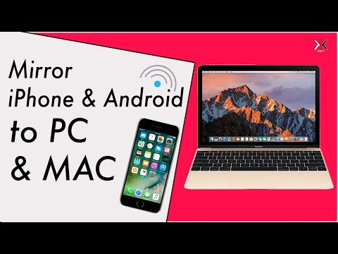 Mirror iPhone & Android On PC & Mac with Air server
