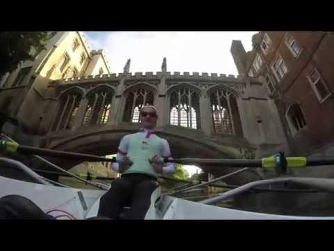 EBC Sculling Tour of Cambridge | River Cam