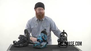 2015 K2 Cinich CTC vs CTS vs CTX Snowboard Bindings - Review - The-House.com