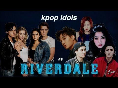 kpop idols as riverdale characters