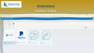 Dynamics NAV 2017  Extensions
