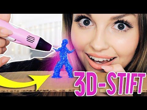 ICH MALE MIT EINEM 3D-STIFT mit heftigem ERGEBNIS | XLAETA