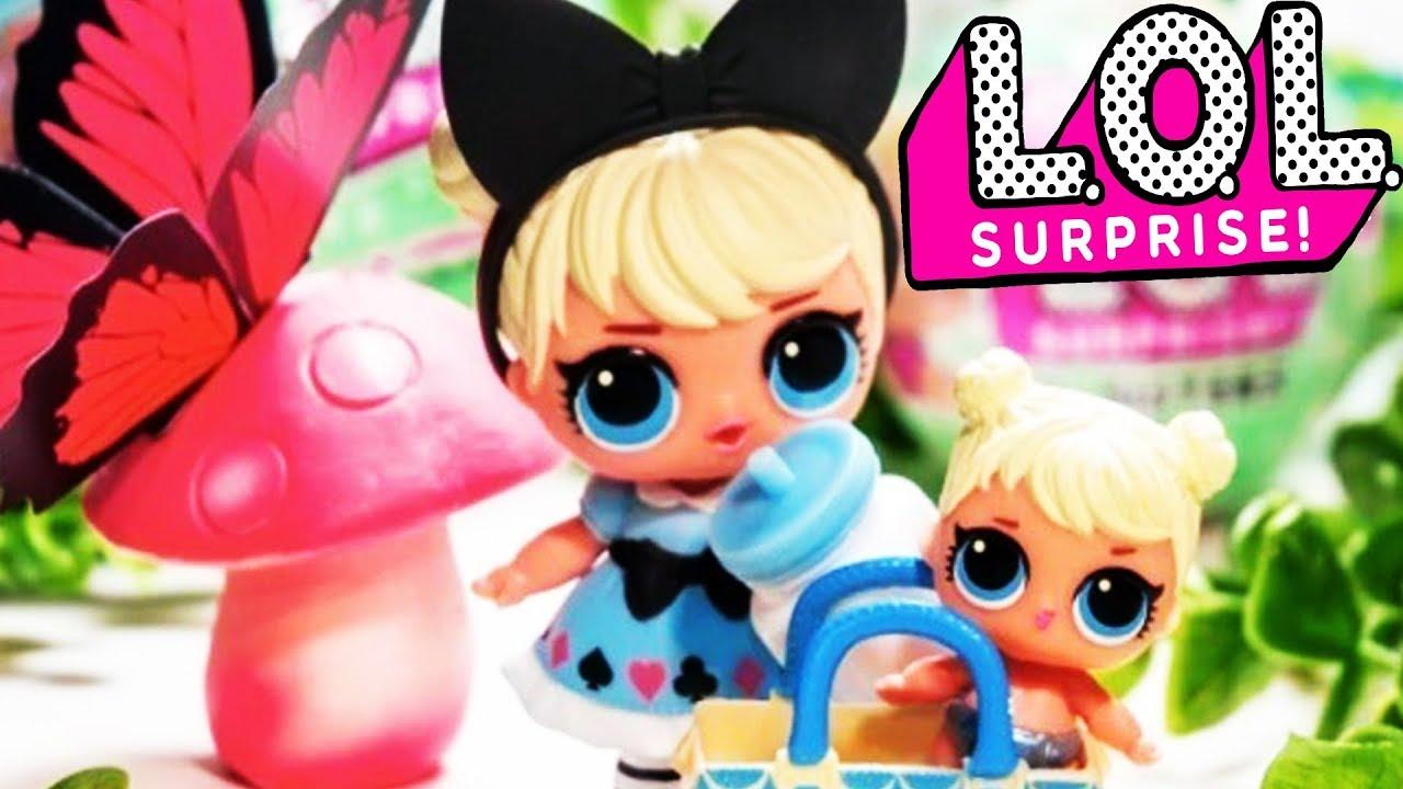 Лол сюрприз Матрешка кукла лол в шаре Видео для детей # ...