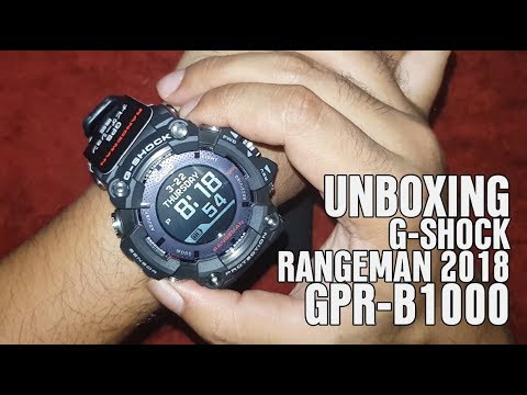 unboxing g shock rangeman 2018 gpr b1000 with english. Black Bedroom Furniture Sets. Home Design Ideas