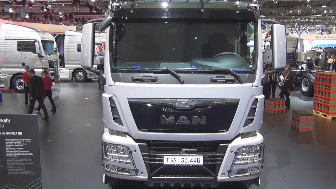 Man Tgs 8x4 Bb Exterior And Interior Youtube