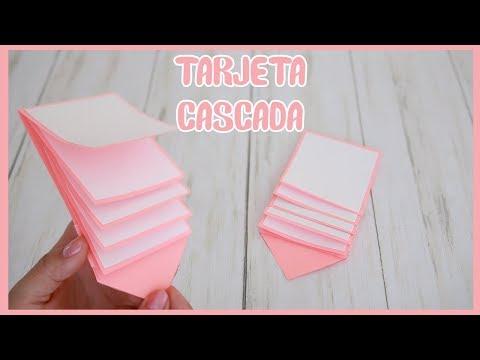 Tarjeta Cascada | Waterfall Card