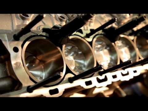 Assembly of the new Lamborghini V12 Engine