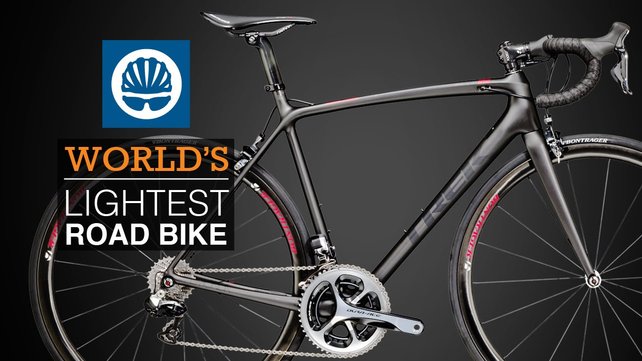 Lightest Road Bike >> Trek Emonda The World S Lightest Road Bike