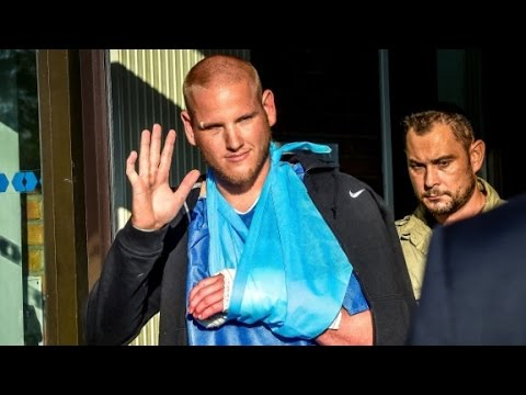 Spencer Stone leaves French hospital following treatment