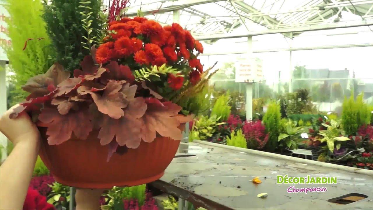 L'automne chez Décor'Jardin - YouTube