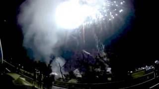 和歌山県橋本市九度山町で行われた今年が初めての『将星真田幸村花火大...