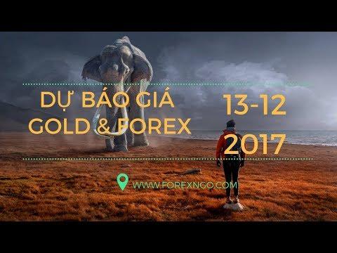 Dự Báo Giá Gold & Forex Ngày 13 Tháng 12 năm 2017